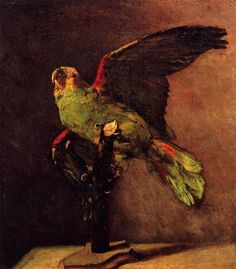 The Green Parrot - Vincent van Gogh