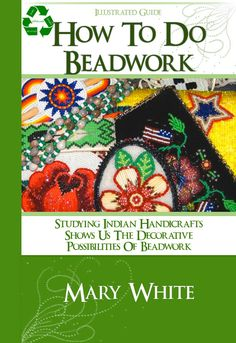 How To Do Beadwork RARE  illustrated Tutorial Book by HowToBooks