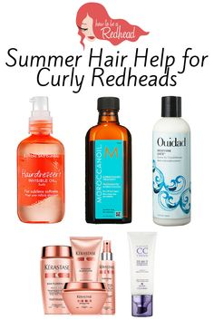 #CurlyHair Products For Your Red Hair – How to be a Redhead