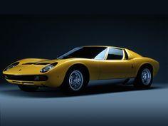Lamborghini Miura - ein Traum! War Mitte der 60er ein wirklich revolutionäres Design. Wegweisend!