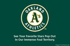 New slogan for the Oakland Athletics