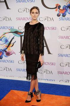 The Olivia Palermo Lookbook : Olivia Palermo at the 2014 CFDA Fashion Awards in ...