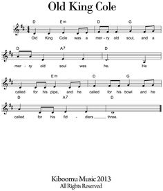 Old King Cole Sheet Music