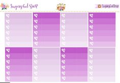 Planner Girl Planner Sticker Set by SugaryGaLShop on Etsy