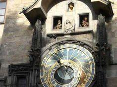 Ceasul astronomic din centrul Pragăi