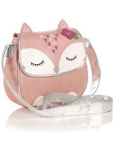 Felicity Fox X Body Bag   Pink   Accessorize