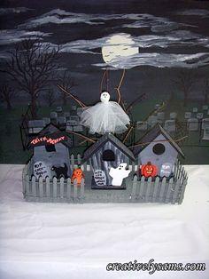 Haunted Birdhouses