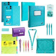 High School Bundle - Aqua