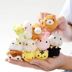 **Amuse**, the king of plushies came up with the magnificent idea of featuring all the **12 Chinese zodiac signs** in the **Puchimaru** series. They are small and round, measuring about **4 cm** / **1.6 inches** on each side. Choose your adorable fluffy zodiac sign from **rat, ox, tiger, rabbit, dragon, snake, horse, sheep, monkey, rooster, dog,** and **boar** or get the whole set to dangle them o...
