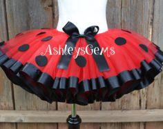 Ladybug tutu ladybug dress up ladybug costume by TuTuMuchTulle