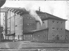 (1911-1912) Sulphuric Acid Factory [Luboń, Poland] - Hans Poelzig  ## Stabilimento chimico per la produzione di acido solfurico a Luboń, Polonia ##  (800×597)