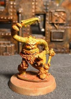Hungry Ghosts Chaos Squats of Khorne: Ancient Creatures of Chaos: Demons of the 1980s: Zygor, Leaping Slomm, Ngaaranh, and SA-ATOR!!!