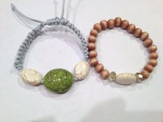 Macrame bracelet set by AroundMyWrist on Etsy, $15.85