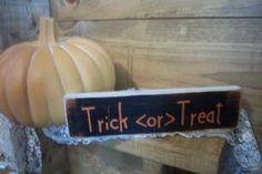 Halloween SignTrick Or Treat SignFall by ChantelMartinDesigns, $7.00