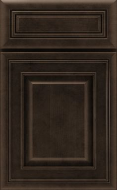 The Galena cabinet door style is classic cabinetry with handsome detail and dimension, available in various cabinet wood types and finishes from Schrock.
