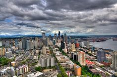 from space needle