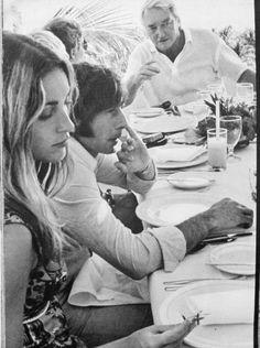 Sharon Tate & Roman Polanski  Cannes 1968