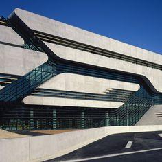 Remembering Zaha Hadid: Pierres Vives, Montpellier, 2012
