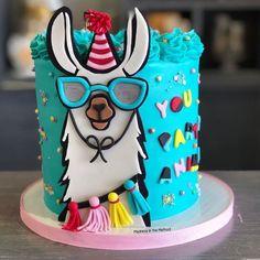 ۰❀۰ Cake.Art ۰❀۰ - Catering - # ۰۰ - Torten - ۰❀۰ Cake.Art ۰❀۰ – Catering – # ۰۰ – Torten – Buttercream Cake, Fondant Cakes, Cupcake Cakes, Pretty Cakes, Cute Cakes, Glow Cake, Fiesta Cake, Llama Birthday, 7th Birthday