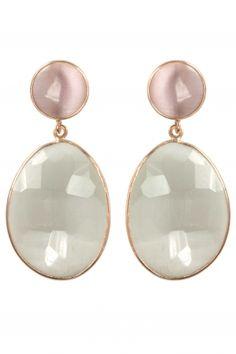 Tigerauge Ohrringe rosé vergoldet #newone #jewellery #earrings <3