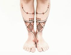 TATTOOS INSPIRED BY AMAZONIAN TRIBES ART