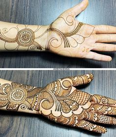 Looking for trending rakshabandhan mehndi designs? You& reached the right place! We& curated rakshabandan mehndi design images that& inspire you. Palm Mehndi Design, Arabian Mehndi Design, Mehndi Designs Book, Latest Arabic Mehndi Designs, Full Hand Mehndi Designs, Mehndi Designs For Girls, Mehndi Designs For Beginners, Mehndi Designs 2018, Stylish Mehndi Designs