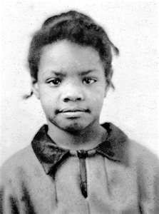 A young Maya Angelou....