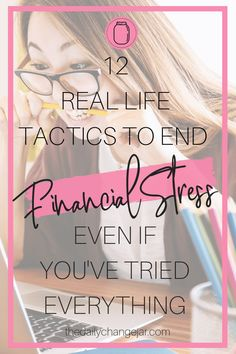 Want to permanently stop financial stress? In this post I review 12 steps to stop stressing about your financial situation and help you get on track. Click the image to find out the 12 tactics to get you there! #daveramsey #financialstress #howtostopfinancialstress #howtobudget #cantsleepfinancialstress #howtoavoidfinancialstress #howtobeatfinancialstress #financialstressinamerica