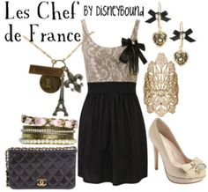 Le Chef de France  by Disneybound