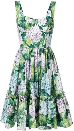 Dolce and Gabbana Bustier Ortensia Dress