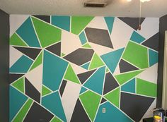 Bedding Like Restoration Hardware Boys Bedroom Paint, Bedroom Wall, Diy Bedroom Decor, Boy Room, Kids Room, Geometric Wall Paint, Teen Boy Bedding, Bed Sets For Sale, Room Wall Painting