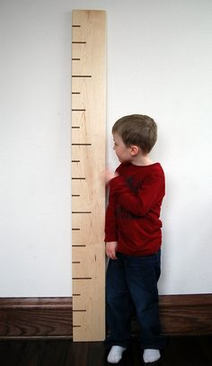 SALE Growth Chart  modern wooden kids growth by littlesaplingtoys, $71.20