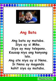 Begin reading with Filipino reading passages which can help you practice your reading, speed and comprehension. Passages include the fol. Grade 1 Reading, Reading Practice, Reading Comprehension For Kids, Reading Passages, Shapes Worksheets, Reading Worksheets, Story For Grade 1, Children Reading, Beginning Reading