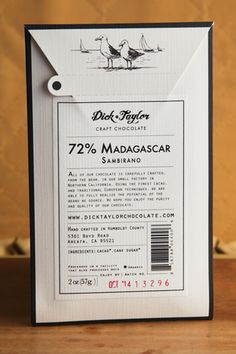 Dick Taylor Chocolate — The Dieline - Package Design Resource