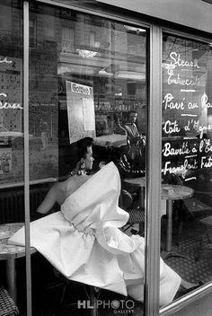 FRANK HORVAT Paris, for L'Officiel, B (Evening Dress by Lanvin)  1989