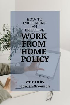 """For businesses: this is an outline for how to create and implement an effective work from home policy. In the """"new world,"""" every business must be prepared for the emerging remote work model. Custom Polo Shirts, Employee Gifts, Clothing Logo, Workplace, Outline, Letter Board, Remote, Writing, How To Plan"""