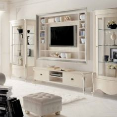 cabinet lock on sale at reasonable prices, buy Art furniture fashion isabel solid wood tv cabinet combination cabinet storage cabinet from mobile site on Aliexpress Now! Tv Cabinet Design, Tv Wall Design, Cabinet Storage, Home Decor Furniture, Luxury Furniture, Furniture Design, Italian Furniture, Living Room Mirrors, Home Living Room