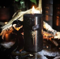 Raven Norse Warrior Candles for Hidden Knowledge, Victory