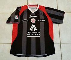 e2bc808a2 Rare ATLETICA Club Necaxa Mexico  3 Away Soccer Jersey Men s XL