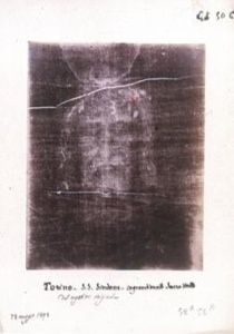 Shroud of Turin   The shroud of Turin is a linen cloth bearing the image of a man who had apparently died of crucifixion. Most Catholics consider it to be the burial shroud of Jesus Christ. It is currently held in the Cathedral of St John the Baptist in Turin, Italy. Despite many scientific investigations, no one has yet been able to explain how the image has been imprinted on the shroud and despite many attempts, no one has managed to replicate it. Radiocarbon tests date it to th...