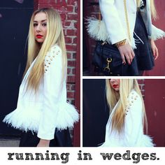 An Exclusive DIY From Blogger Nicole Alyse / Bedazzle Your Blazer | The Zoe Report