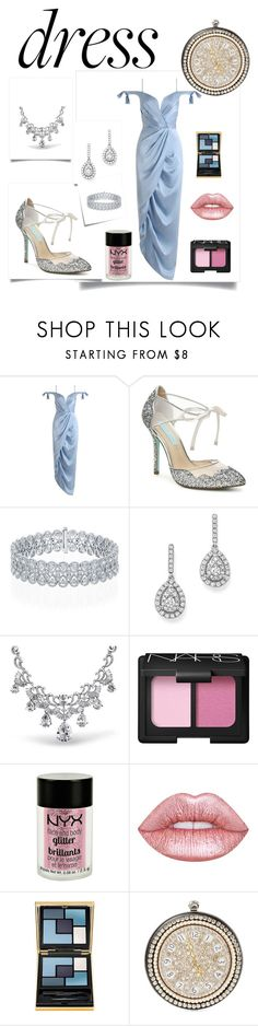 """Modern Day Cinderella. #dreamydress"" by glamourgrammy on Polyvore featuring Zimmermann, Post-It, Bloomingdale's, Bling Jewelry, NARS Cosmetics, Charlotte Russe, Lime Crime, Yves Saint Laurent, Alexander McQueen and modern"