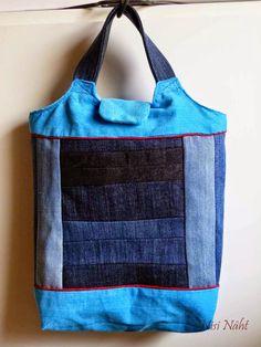 Nisi näht: Hier kommt Kurt Stoffbeutel, Tasche, bag, tote, marketbag, nähen…