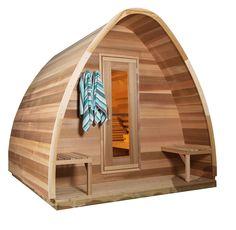 igloo fasssauna mit glas 22 zuk nftige projekte pinterest gartenh user gartenhaus bauen. Black Bedroom Furniture Sets. Home Design Ideas