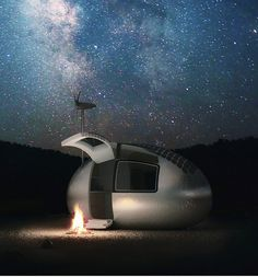 This is just a damn cool idea.  More here  http://www.ecocapsule.sk/