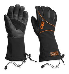 Men's Luminary Gloves | Outdoor Research: A technical ice climbing glove designed to meet the needs of elite climbers.