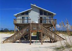 SHORE THANG - THIS IS A CUTE, OLDER BEACH HOUSE THAT SITS DIRECTLY ON THE GULF FRONT. IT HAS A LARGE, FULLY EQUIPPED KITCHEN, CABLE T.V., WOOD BURNING FIREPLACE AND A LARGE OPEN DECK. THE MASTER BEDROOM FEATURES A KING SIZE BED, A PRIVATE BATH WITH A SHOWER AND DIRECT DECK ACCESS. THE OTHER TWO BEDROOMS HAVE FULL/DOUBLE BEDS AND SHARE A FULL BATH. THIS HOME SITS AT THE END OF ITS PRIVATE 900 FOOT DRIVEWAY WHICH PROVIDES PRIVACY AND SERENITY.