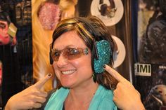 Mother's Day Gift ideas Gifts for shooters Items for women who shoot shooting muffs hearing protection sparkles http://www.womensoutdoornews.com/2015/04/6-gifts-for-the-mom-who-shoots/ packn_heat ear muffs