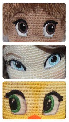Mesmerizing Crochet an Amigurumi Rabbit Ideas. Lovely Crochet an Amigurumi Rabbit Ideas. Crochet Eyes, Crochet Stitches, Crochet Baby, Crochet Edgings, Crochet Shirt, Cross Stitches, Crochet Motif, Amigurumi Patterns, Amigurumi Doll