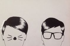 Dan and Phil by Kira Armstrong (please don't repin)